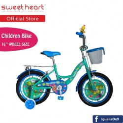'Sweet Heart Paris CB1601 G-MAX Children Bicycle (Blue)'