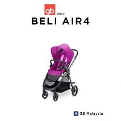 gb Beli Air4 (Posh Pink) - Light City Stroller (gb Malaysia Official)