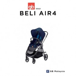 'gb BELI AIR4 (Seaport Blue) - LIGHT CITY STROLLER (gb Malaysia Official)'