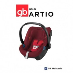'gb ARTIO (Dragonfire Red) - TOP LEVEL INFANT CAR SEAT (gb Malaysia Official)'