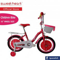'Sweet Heart Paris CB1601 FLORA Children Bicycle (Red)'
