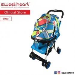 Sweet Heart Paris ST402 Iron Frame Stroller (Blue Green)