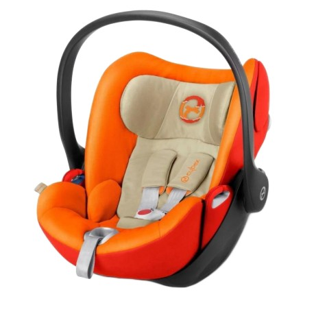 CYBEX Platinum CLOUD Q Reclining Backrest Infant Car Seat (AUTUMN GOLD) - Cybex Malaysia Official S