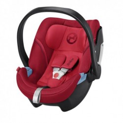 'CYBEX ATON 5 Infant Car Seat (REBEL RED) - Cybex Malaysia Official Store'