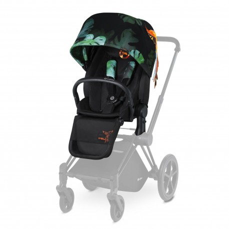 CYBEX PRIAM Lux Seat (BIRDS OF PARADISE) for Platinum PRIAM - Cybex Malaysia Official Store