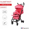 Sweet Heart Paris Cabin Size Stroller ST Gracieux (Red) with Self Standing
