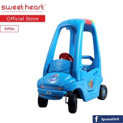 'Sweet Heart Paris TLPOLI Cozy Coupe Ride on Car (Blue)'