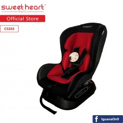 Sweet Heart Paris CS333 Car Seat (Black and Red)