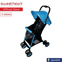 'Sweet Heart Paris ST VERONA(GRANBLU) 4KG Lightweight Stroller (Blue)'