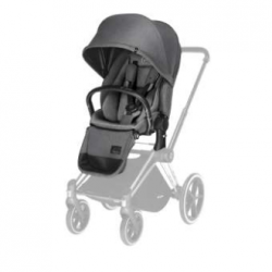 CYBEX PRIAM Lux Seat (Manhattan Grey) for Platinum PRIAM - Cybex Malaysia Official Store