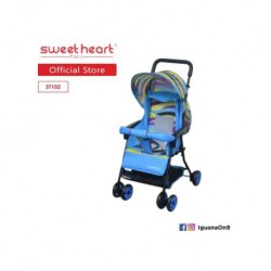 Sweet Heart Paris ST102 Lightweight 3.5kg Recline-able Buggy Stroller\''