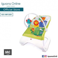 'Iguana Online Baby Bouncer BBYLS03 with Music and Vibration'