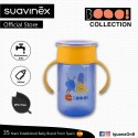 Suavinex Boo Collection BPA Free Non Spill Training Cup Bottle (Blue)
