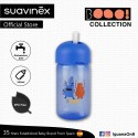Suavinex Boo Collection BPA Free Baby Straw Training Cup Bottle (Blue)