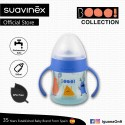 Suavinex Boo Collection BPA Free Non Spill Baby First Training Spout Bottle 150ml (Blue)