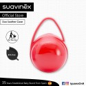 Suavinex BPA Free Duo Soother Pacifier Holder Box (Red)