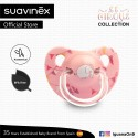 Suavinex Circus Collection BPA Free 6 - 18 Months Anatomical Soother Pacifier (Pink Elephant)