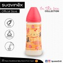 Suavinex In The Sea Collection BPA Free 360ml Wide Neck Baby Feeding Bottle with Anatomical Teat (Pi