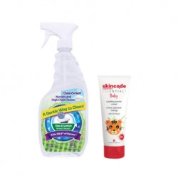Cleansmart Disinfectant & Skincode Essentials Baby Soothing Barrier Cream (Value Package)