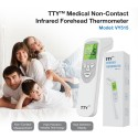 TTY Medical Non-Contact Infrared Forehead Thermometer