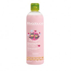 Rivadouce Loupiots Shampooing Douche Miel et Framboise (2-in-1 Shampoo and Shower Gel Honey & Raspberry) - 500ml