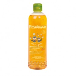 Rivadouce Loupiots Shampooing Douche Miel et Clementine (2-in-1 Shampoo and Shower Gel Honey & Clementine) - 500ml
