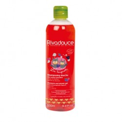 Rivadouce Loupiots Shampooing Douche Miel et Grenadine (2-in-1 Shampoo and Shower Gel Honey & Grenadine) - 500ml