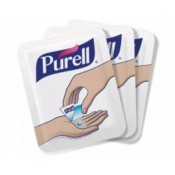 Purell Single Use Alcohol Advanced Hand Sanitizer (100 Count)