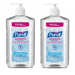 Purell Advanced Instant Hand Sanitizer (20 fl oz) - Pack of 2