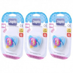 Japlo Pro Olive Pacifier  - 1 pcs x 3 Blister Cards (3 Blister Cards in 1)