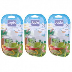 Japlo Forest Cherry Pacifier  - 1 pcs x 3 Blister Cards (3 Blister Cards in 1)