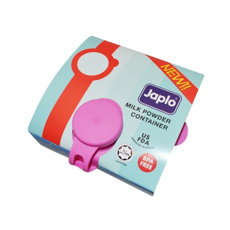 Japlo Milk Powder Container - Pink