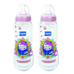Japlo Streamlined Feeding Bottle 250ml  (Twin Packs)