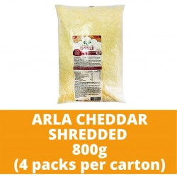 JG Arla Cheddar Shredded 800g (4 packs per carton)