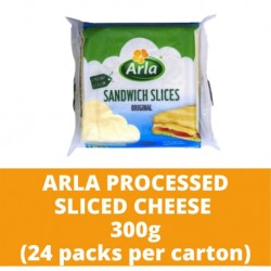 JG Arla Processed Sliced Cheese 200g (24 packs per carton)
