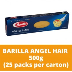 JG Barilla Angel Hair 500g (25 packs per carton)