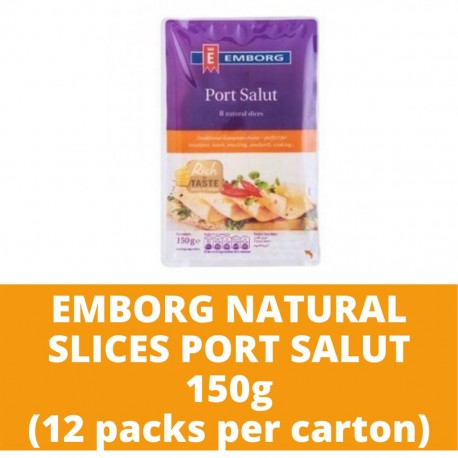 JG Emb Nsc Port Salut 150g (12 packs per carton)