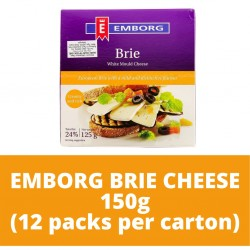 JG Emborg Brie Cheese 125G (12 packs per carton)