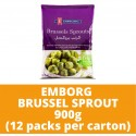 JG Emborg Brussel Sprout 900g (12 packs per carton)