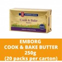 JG Emborg Cook and Bake Butter 250g (20 packs per carton)