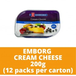 JG Emborg Cream Cheese 200g (12 packs per carton)