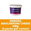 JG Emborg Mascarpone Cheese 500g (6 packs per carton)