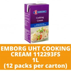 JG Emborg Uht Cooking Cream 112293Fs 1L (12 packs per carton)