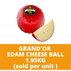 JG Grand'Or Edam Cheese Ball 1.95kg (sold per unit)