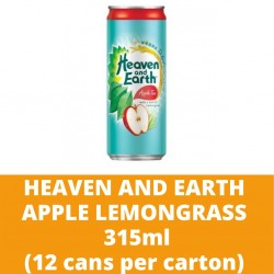 JG Heaven and Earth Apple Lemongrass 315ml (12 cans per carton)