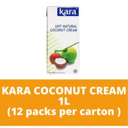 JG Kara Coconut Cream 1L (12 packs per carton)