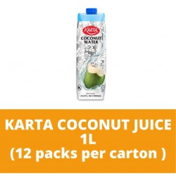 JG Karta Coconut Juice 1L (12 packs per carton)
