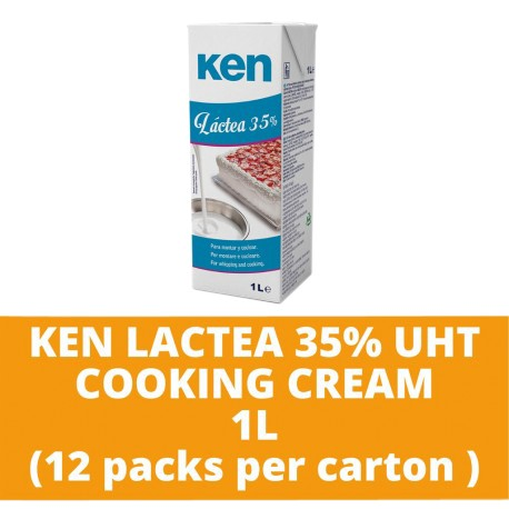 JG Ken Lactea 35% Uht Cooking Cream 1L (12 packs per carton)