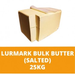 JG Lurmark Salted Bulk Butter 25kg (sold per unit)