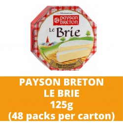 JG Pb Brie 125g (48 packs per carton)